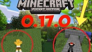 КАК ПОЛЗАТЬ  в Minecraft PE 0.17.0 (Без Аддонов)