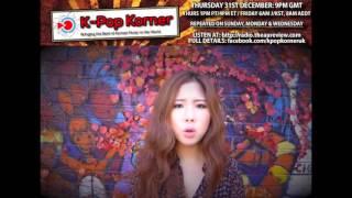 HANYE (한예) K-Pop korner interview @AU_Radio