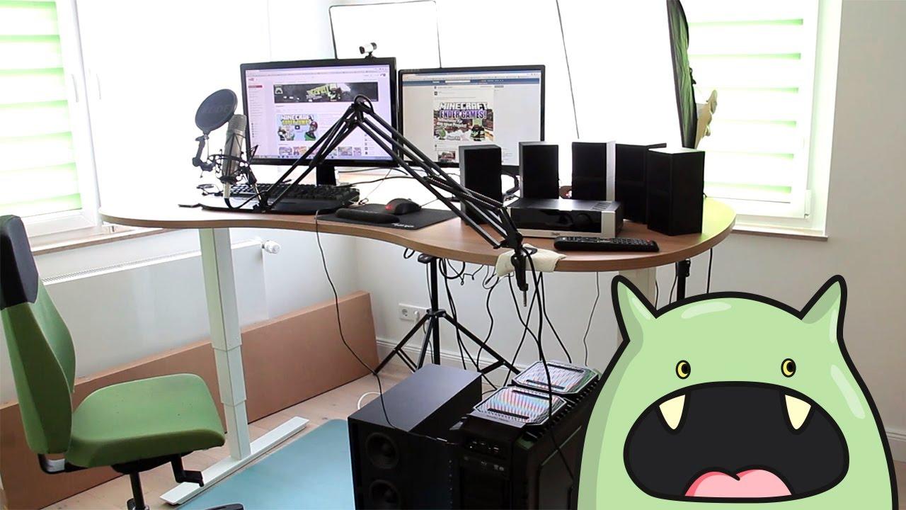 Gamer zimmer 6 bildschirme  ROOMTOUR Let's Play Zimmer + Start der Serie - ungespielt Hardware ...