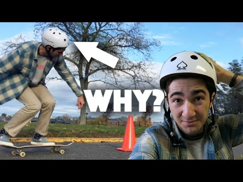 Why Don't Skaters Wear Helmets?