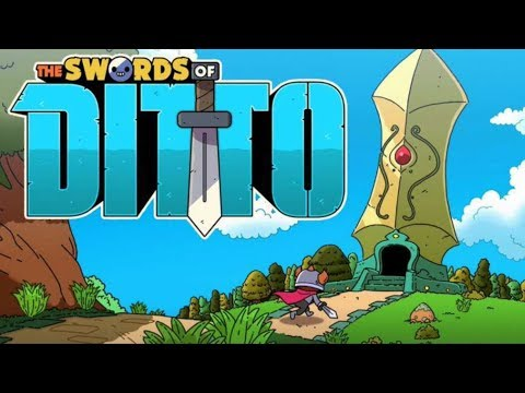 The Swords of Ditto - FIRST LOOK at this ZELDA-Like Action RPG!! - Swords of Ditto Gameplay