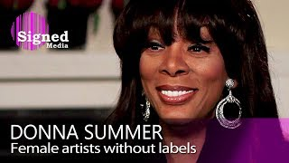Donna Summer on Aretha Franklin, Madonna, Beyoncé and Diana Ross
