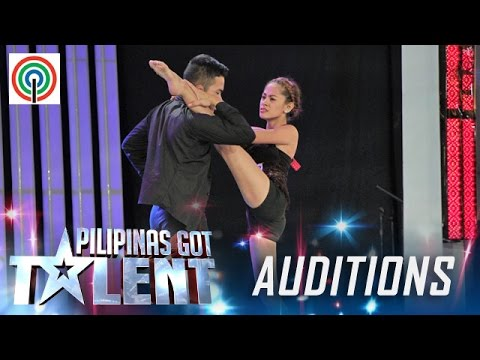 Pilipinas Got Talent Season 5 Auditions: Um Tagum Casteral Duo - Sultry Dance Duo