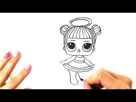 Lol Bebek Nasıl çizilir Boyama Sayfası Youtube