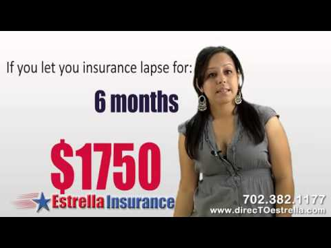 Car Insurance Las Vegas and July 1st 2011 DMV Law for insurance lapse