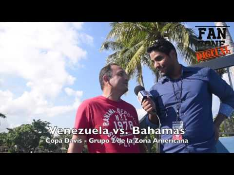 Fan Zone Digital: Copa Davis (Venezuela vs. Bahamas)