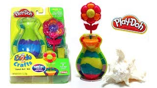 Play-Doh Sand Art Beach Toy No Mess Crafts Ez2do  Sand Art - Without the real sand mess