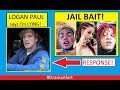 Logan Paul calls me a LIAR! #DramaAlert Bhad Bhabie & Trippie Redd! Casey Neistat STALKER!