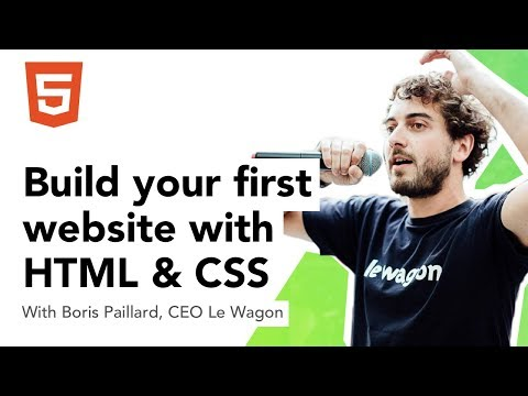 Build your website with HTML & CSS