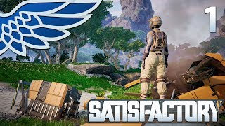 SATISFACTORY MULTIPLAYER | Drop Wreckage Part 1 - Satisfactory Early Access Let's Play Gameplay