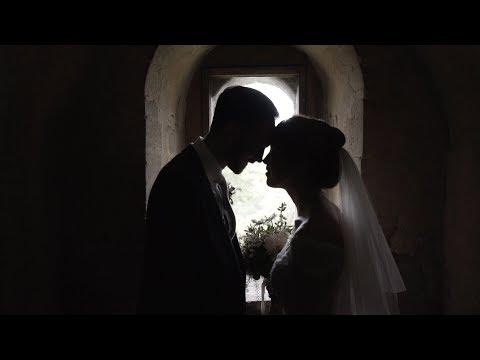 Jo + Elliot wedding video Hedingham castle