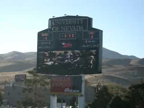 Nevada Wolf Pack Football 2008 Stadium Intro