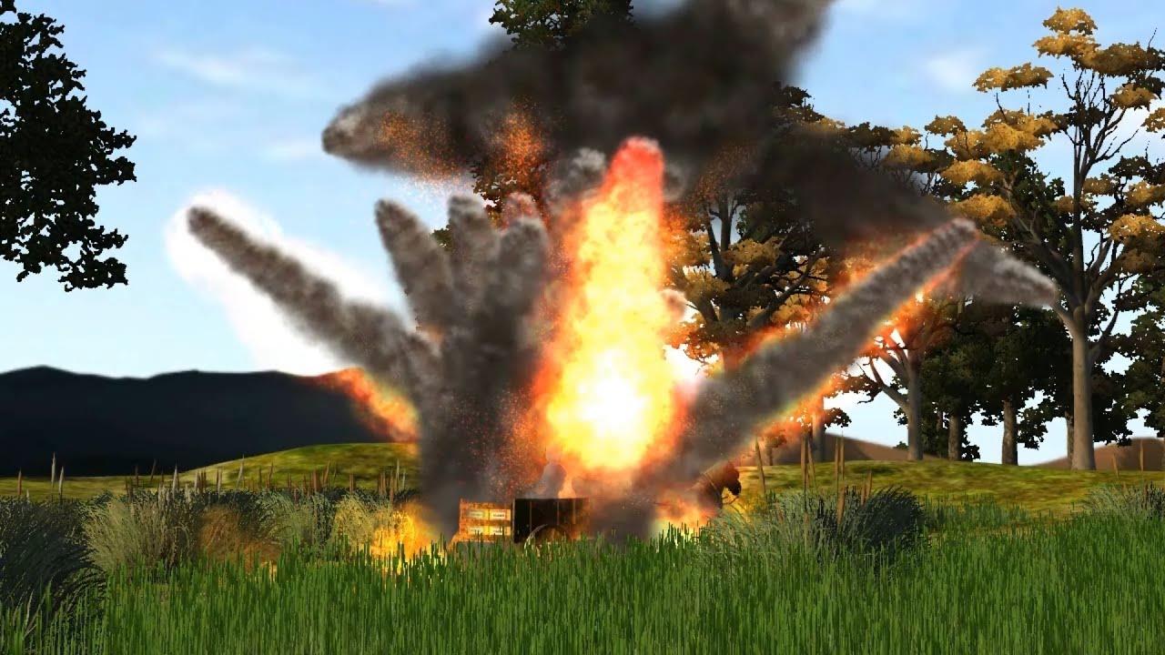 Dynamite Explosion