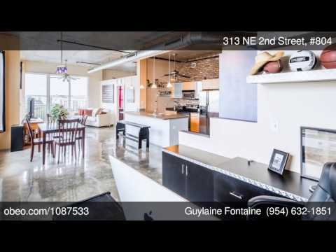 LOFT/CONDO Downtown Fort Lauderdale - NOLA LOFTS - 313 NE 2nd Street, #804, Fort Lauderdale