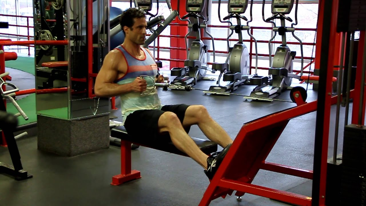 How to Do Seated Cable Rows with Proper Form & Technique - Back ...