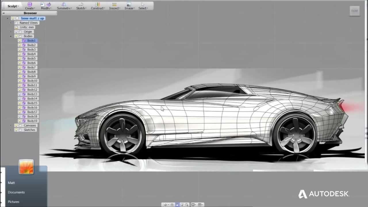 Autodesk - Car Design - YouTube