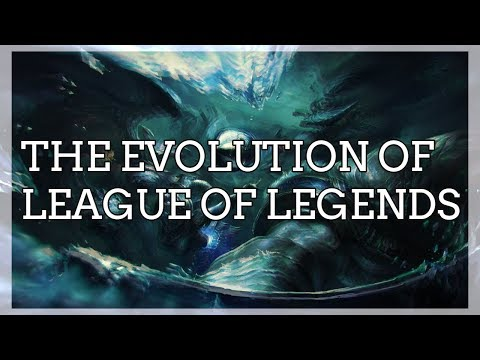The Evolution of League of Legends thumbnail