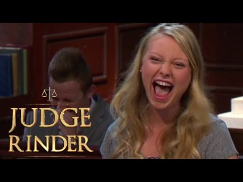 Woman Keeps Repeating Judge in Court | Judge Rinder