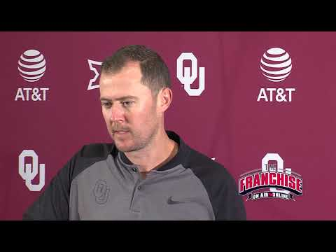 Ohio State Weekly Press Conference - Lincoln Riley