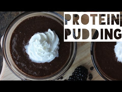 Healthy Chocolate Pudding Recipe| How To Make High Protein High Fiber Chocolate Pudding