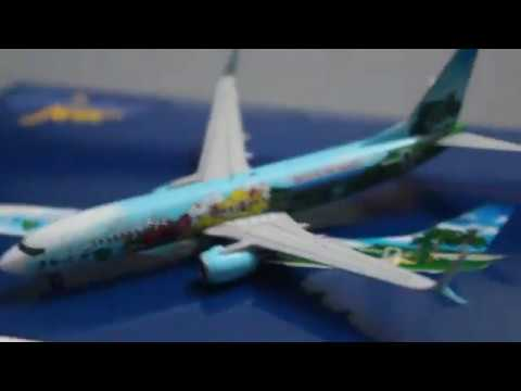Gemini jets model review: Alaska airlines 737-800 spirit of the islands livery