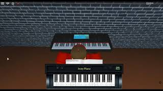 Running in the 90's - Initial D by: Max Coveri on a ROBLOX piano.