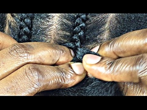 How To Cornrow Beginners Only