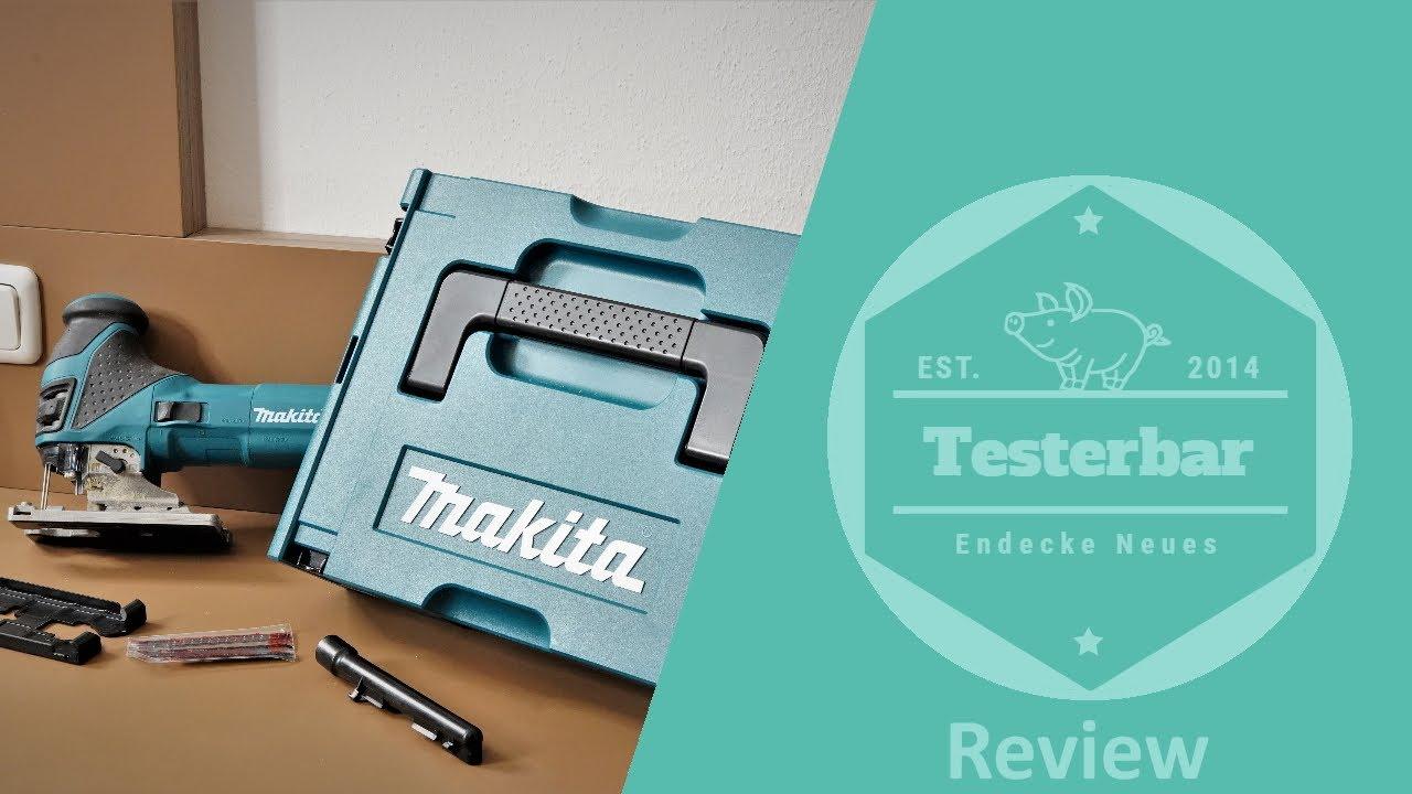 leistungsstarke Makita Stichsäge 4351CTJ  im Test