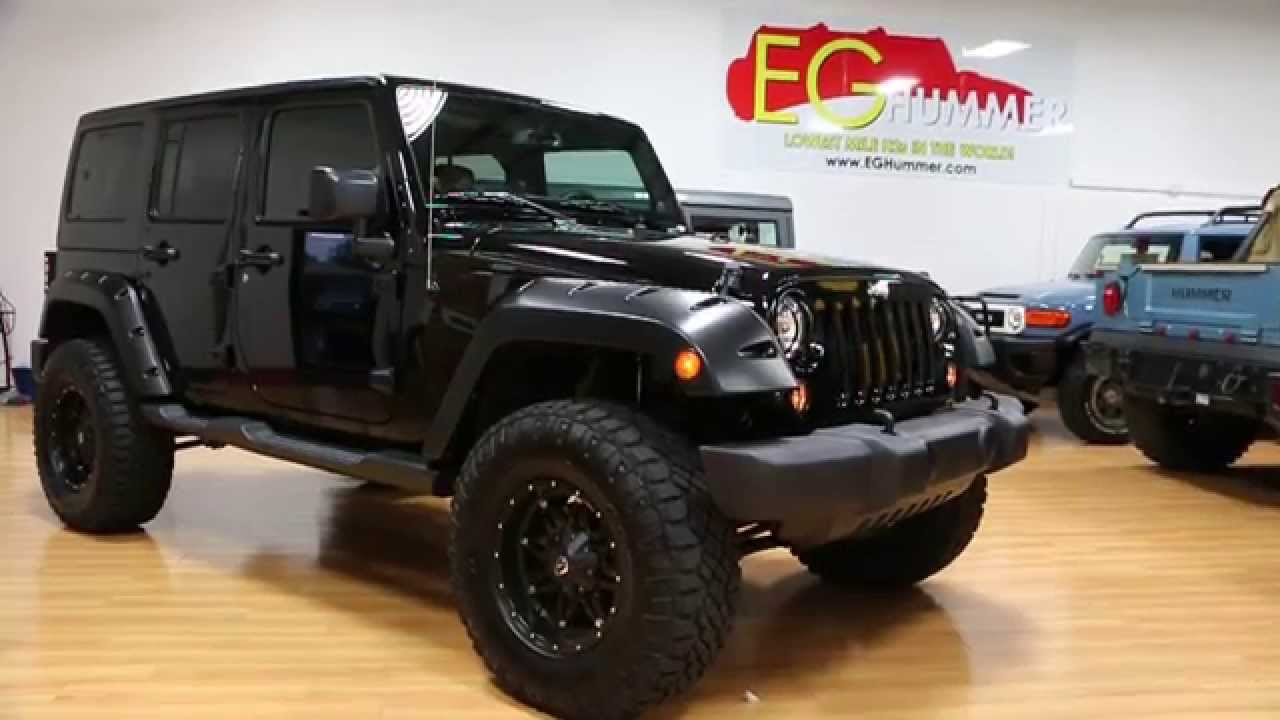 2014 jeep wrangler unlimited willys wheeler for sale tow 4 lift flares tasty mods only 3538. Black Bedroom Furniture Sets. Home Design Ideas