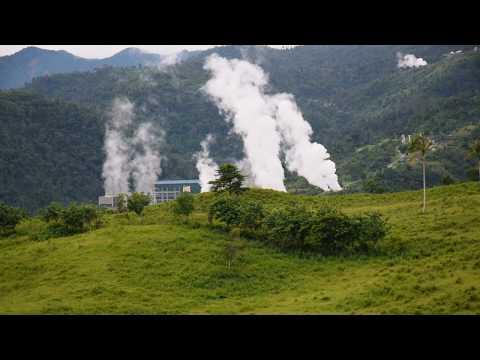 EDC Power Plant Smoke Ormoc City Leyte Philippines 2017