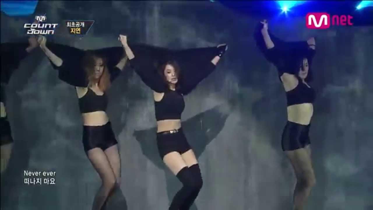 เพลงเกาหลีกับท่าเต้นที่ร้อนแรงที่สุดในต้นปี 2014 (JIYEON - NEVER EVER 1분1초 )
