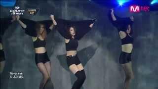 Repeat youtube video เพลงเกาหลีกับท่าเต้นที่ร้อนแรงที่สุดในต้นปี 2014 (JIYEON - NEVER EVER 1분1초 )
