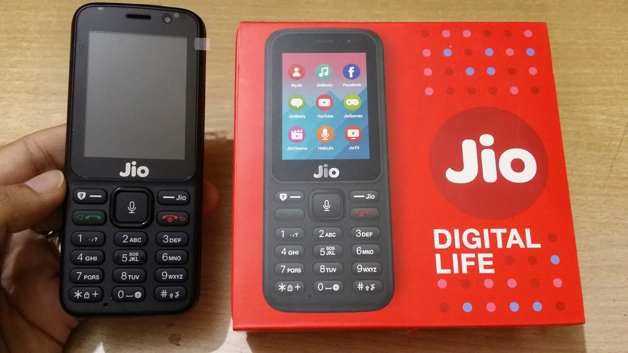 2c0be422c Jio Phone Unboxing