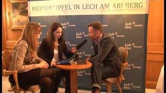 Mediengipfel Lech - Gespräch mit Markus Spillmann
