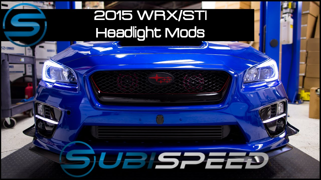 Subisd 2017 Wrx Sti Headlight Modification W C Light Hid Retrofit You