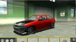 Street Legal Racing Redline 2.2.1 MWM - Ford Escort Mk 5 - Gameplay