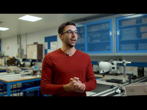 Play video: Michael Taricone, Electrical and Electronic Engineering student
