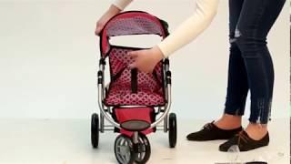 Прогулочная коляска для куклы (обзор)
