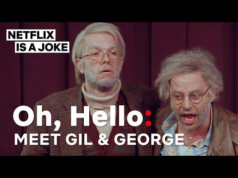 John Mulaney And Nick Kroll In Oh Hello | Netflix Is A Joke