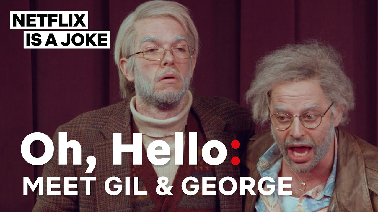 John Mulaney And Nick Kroll In Oh Hello | Netflix Is A Joke