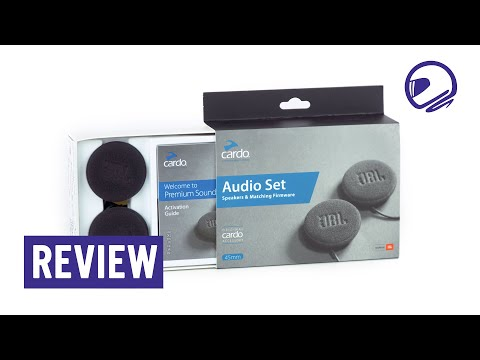 Cardo JBL 45mm audio set speaker review - MotorKledingCenter