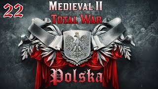 Medieval II: Total War #22 - Polska - Test Nowych Technologii (60 FPS Gameplay PL)