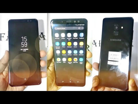 Samsung Galaxy A8 2018 Plus HANDS ON LOOK!!!