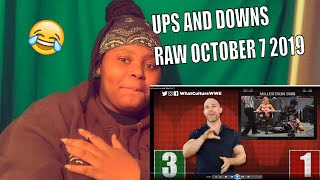 Ups & Downs From WWE RAW (Oct 7)