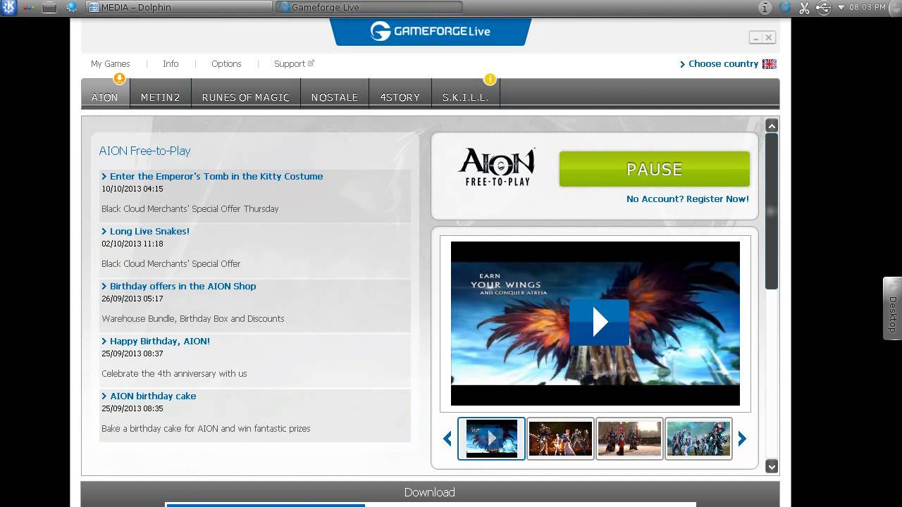 HOW TO Installing Aion on Linux :)