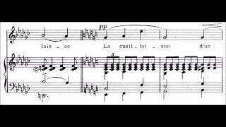 "Claude Debussy - ""Apparition"" for voice and piano"