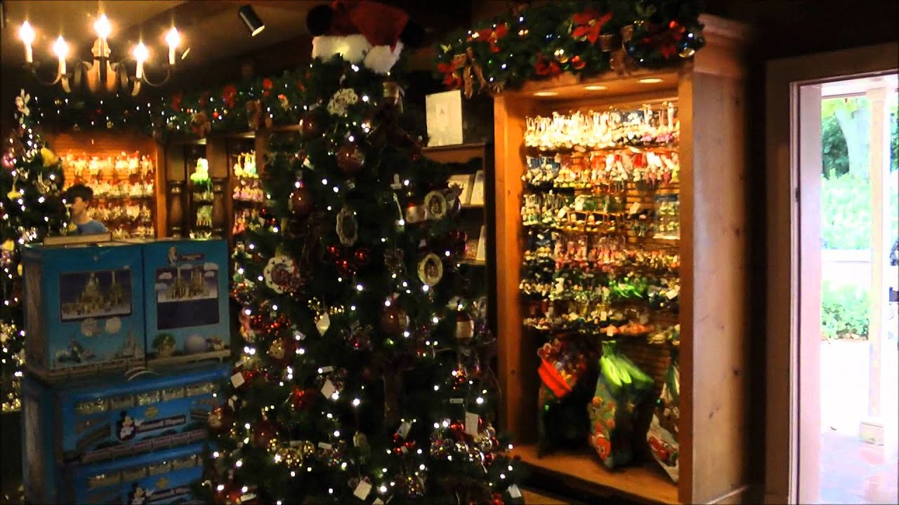 Ye Olde Christmas Shoppe, Magic Kingdom, Walt Disney World - YouTube