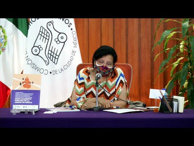 Discurso de la Presidenta de CDHCM, en el Diálogo entre academia, sociedad civil y gobierno