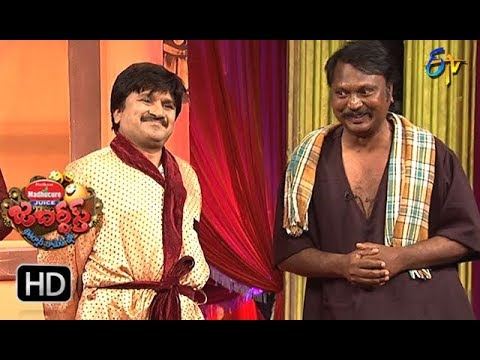 Rocket Raghava Performance | Jabardasth |  8th  March 2018  | ETV  Telugu