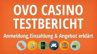 OVO Casino Testbericht: Anmeldung & Einzahlung erklärt [4K]